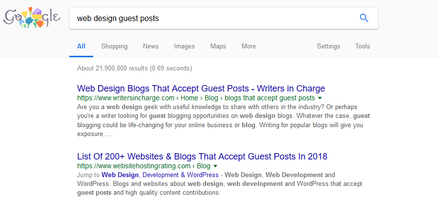 Guest Posting Backlinks
